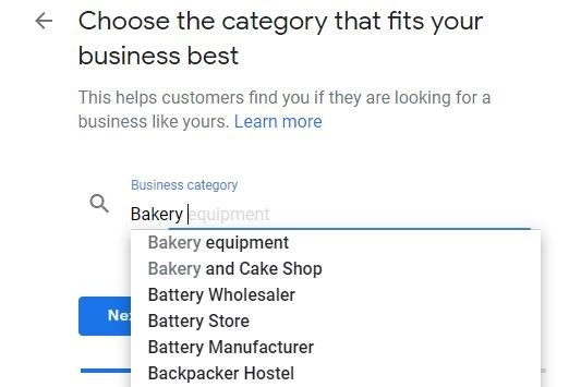 Choose Category