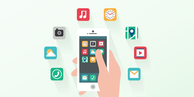 Easy share by pinning the apps