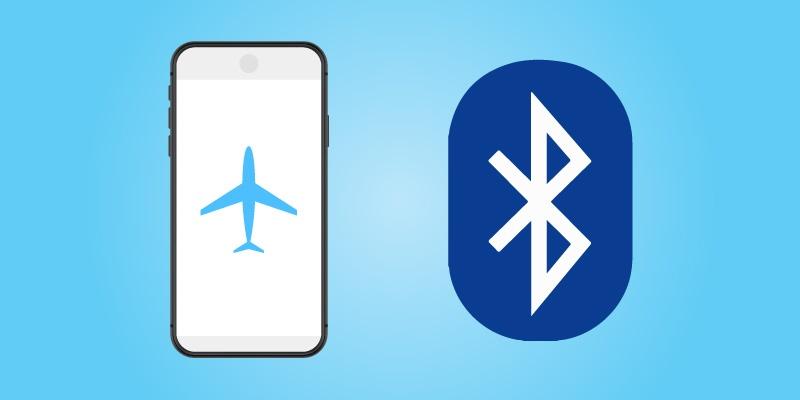 Flight Mode Ensures Bluetooth Devices