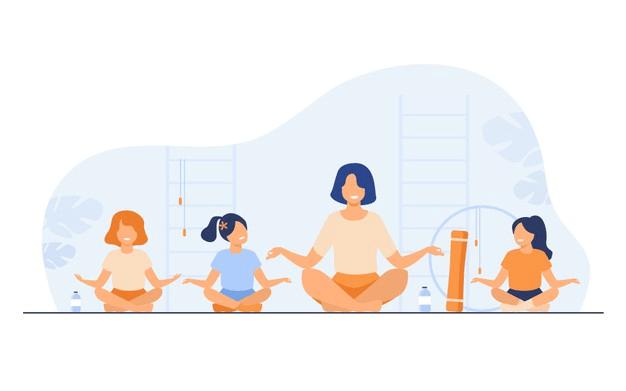 Yoga teacher or Yoga Trainer
