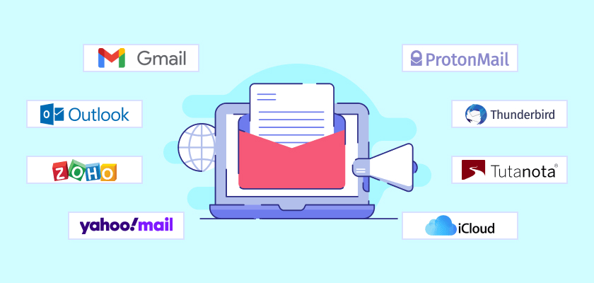 Top 10 Email Service Providers